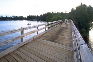 Northwoods Biking, walking, and snowmobile Trails